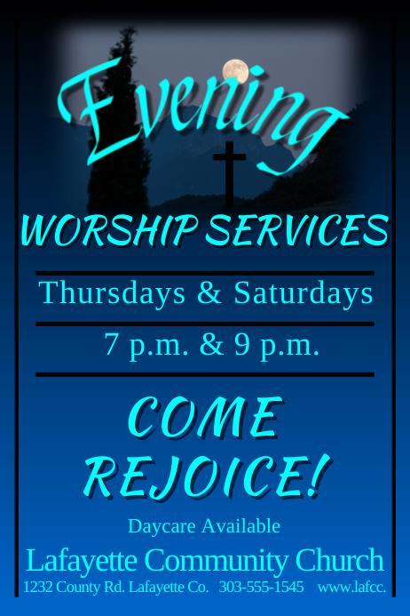 Evening Worship