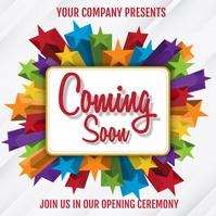 event, Corona, announcement,retail, business template