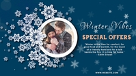 event,christmas,,winter,business Twitter-bericht template
