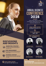 Event | Summit | Conference Flyer A4 template