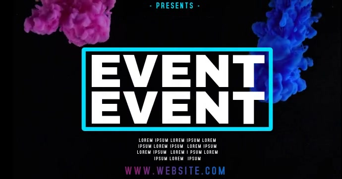 EVENT AD facebook share SHARED IMAGE TEMPLATE