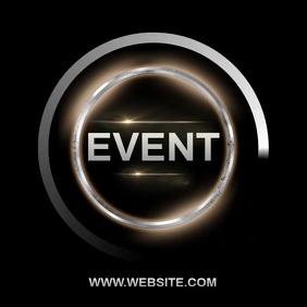 EVENT AD INSTAGRAM POST TEMPLATE Logo