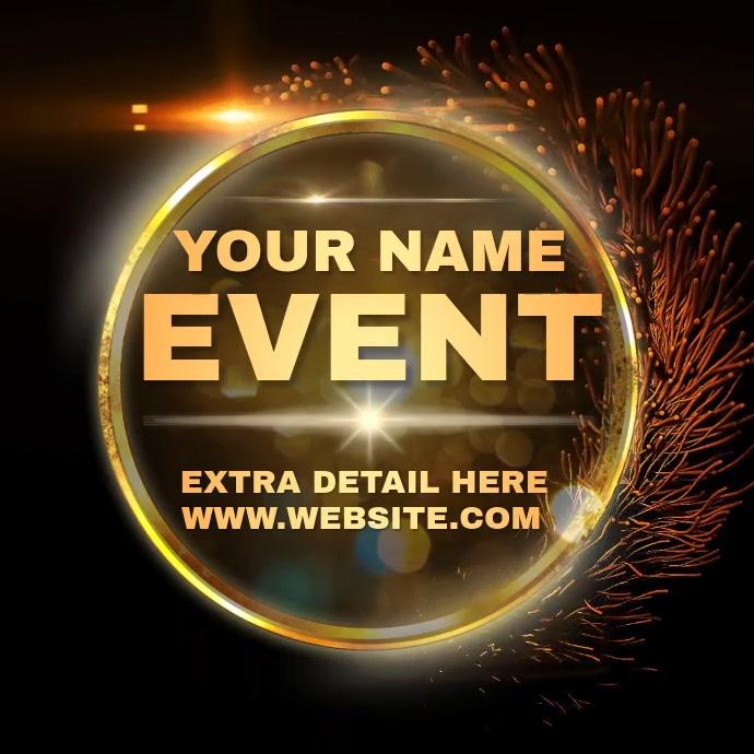 EVENT AD INSTAGRAM TEMPLATE Logo