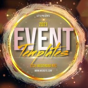 event ad template instagram Kwadrat (1:1)