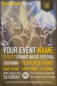 Event/Band Flyer Template