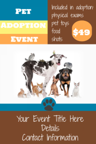 Event Flyer Poster Business Announcement retail sign template
