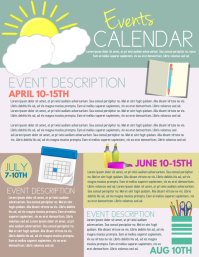24 220 Customizable Design Templates For Event Calendar Postermywall