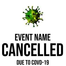 Event Cancellation Instagram Post template