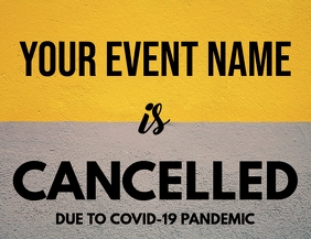 Event Cancellation Template Flyer (US Letter)