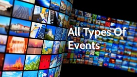 Event Collages video poster template