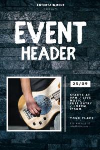 Event Concert Flyer Template