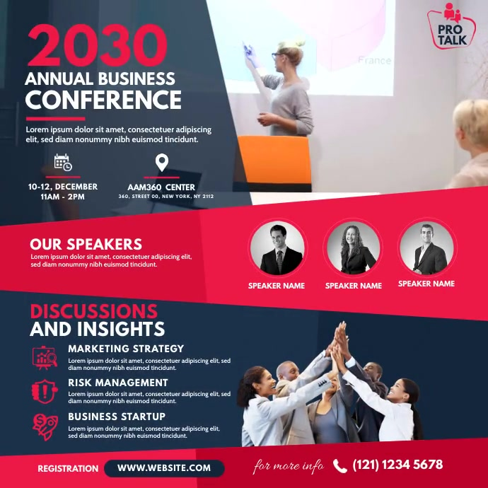 Event / Conference Pos Instagram template