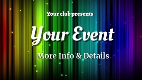 event Pantalla Digital (16:9) template