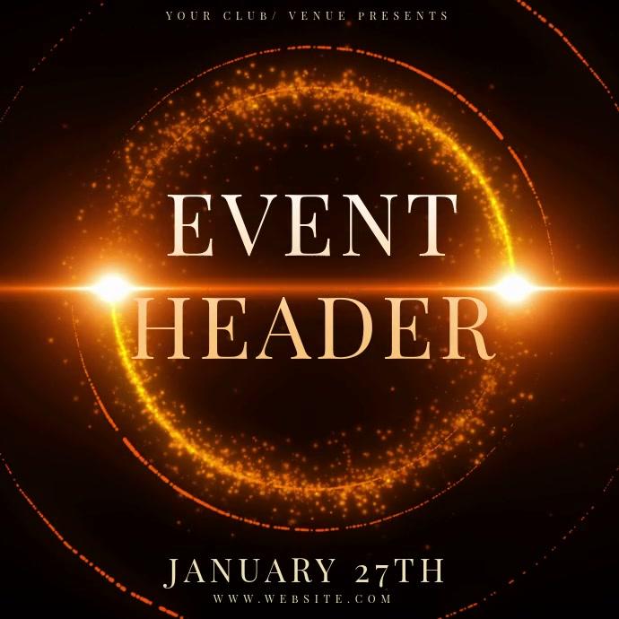 EVENT Design TEMPLATE