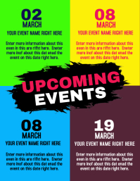 event Flyer (US Letter) template