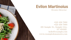 event director business card