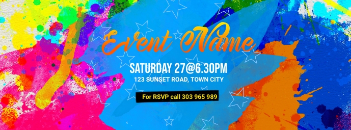 Event Facebook Cover Photo template