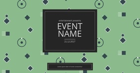 Event Facebook video post template