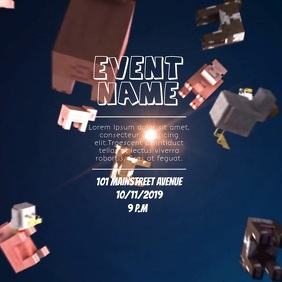 EVENT FLIER VIDEO TEMPLATE