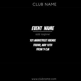 EVENT FLIER VIDEO TEMPLATE