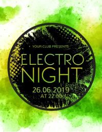 Event Flyer, Night Club, Music Night, Band