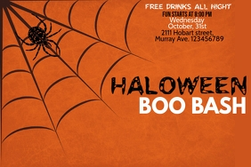 Event flyer, Party flyer, Halloween flyer