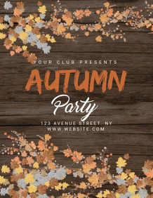 event flyer,autumn flyers,fall flyers