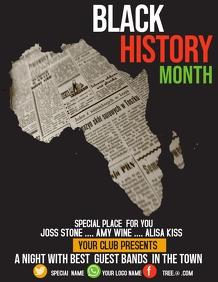 Event flyer,Black history month