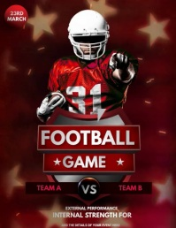 ,Gaming flyers, football flyers,Soccer Volante (Carta US) template