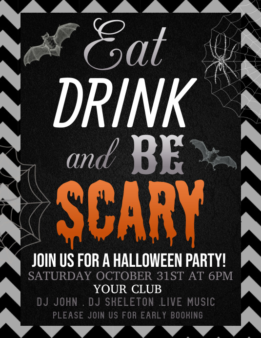 Event flyer,Halloween flyer,party flyer