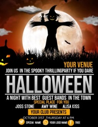 Event flyer,Halloween flyer,party flyers