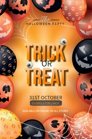 Event flyer,Halloween flyers