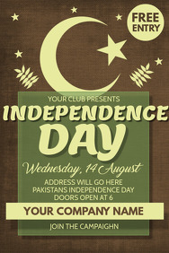 Event flyer,Independence day flyer