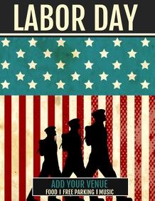 Event flyer,Labor day