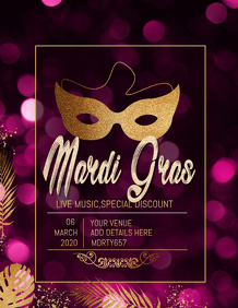 event flyer,Mardigras flyers,party flyers
