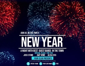 Event flyer,new year flyer,party flyers