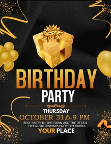 event flyer,party flyers,Birthday flyers