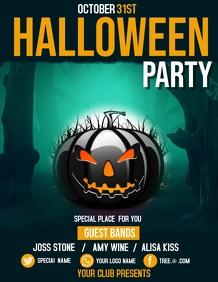 Event flyer,party flyers,Halloween Flyers