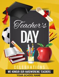 Event flyer,Teacher's day flyers