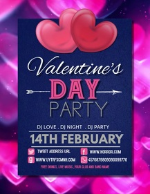 Event flyer,Valentine's flyers
