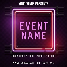 EVENT FLYER Instagram Post template