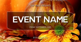 EVENT FLYER Facebook Shared Image template