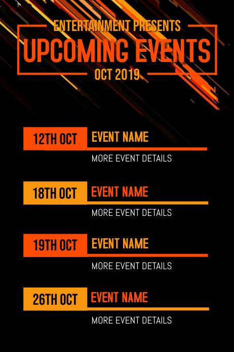 Event Flyer Iphosta template