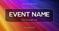 EVENT FLYER Immagine condivisa di Facebook template