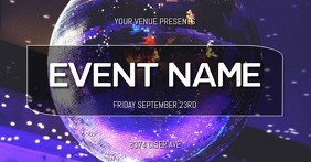 EVENT FLYER Image partagée Facebook template