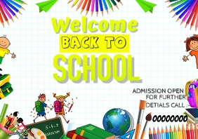 event flyer template,back to school