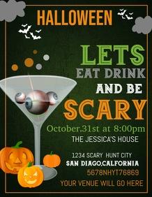 event flyer template,Halloween flyer