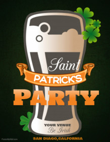 event flyer template,St.patricks flyer template
