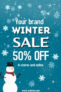 Christmas,winter,business Poster template