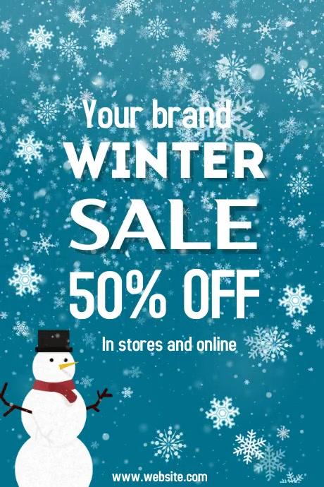 event flyer template,winter,business